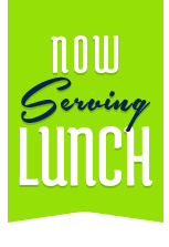 Now serving lunch